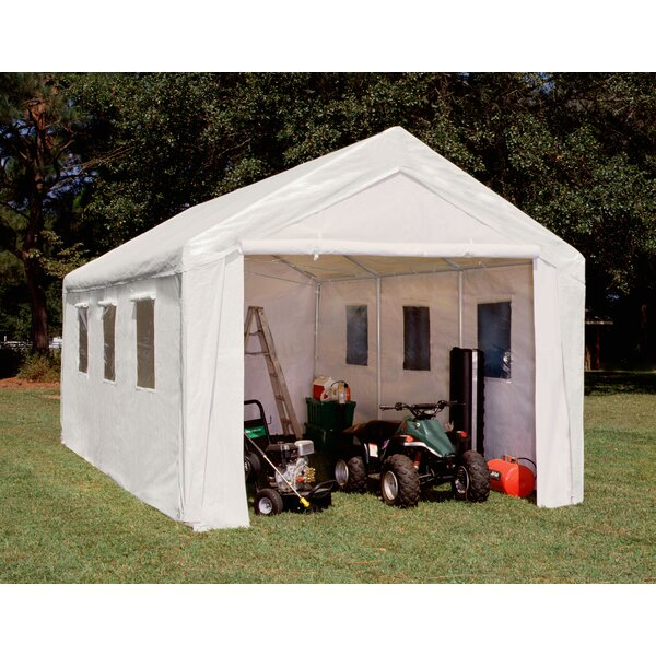 Hercules 10.5 Ft. X 20 Ft. Garage By King Canopy.