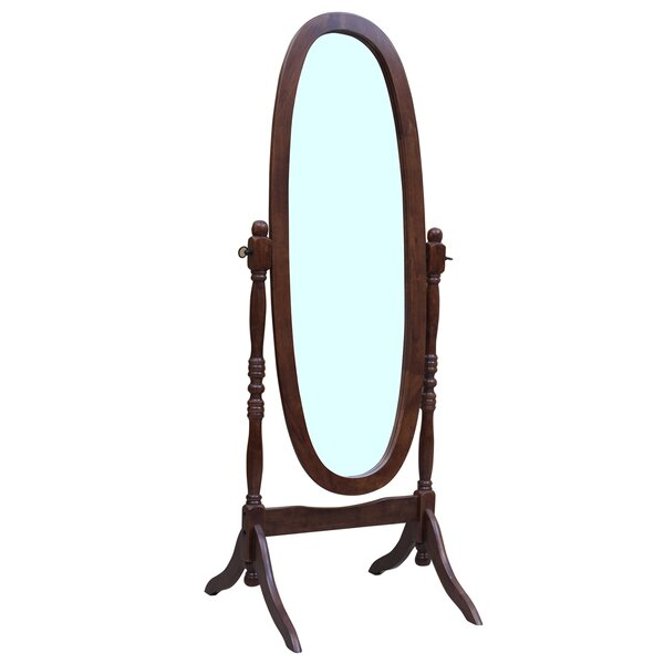 Maryanna Traditional Standing Cheval Mirror by Darby Home Co