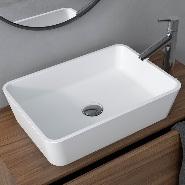 Natura™ Rectangular Vessel Bathroom Sink by Kraus