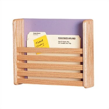 One Pocket Medical & File Chart Holder with Slats by Peter Pepper