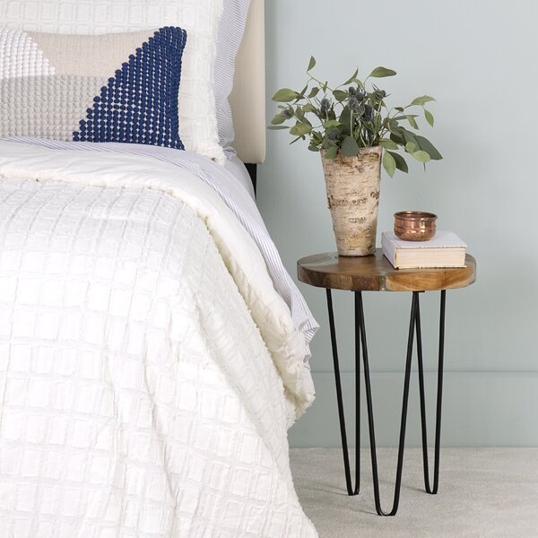 Loken End Table By Union Rustic
