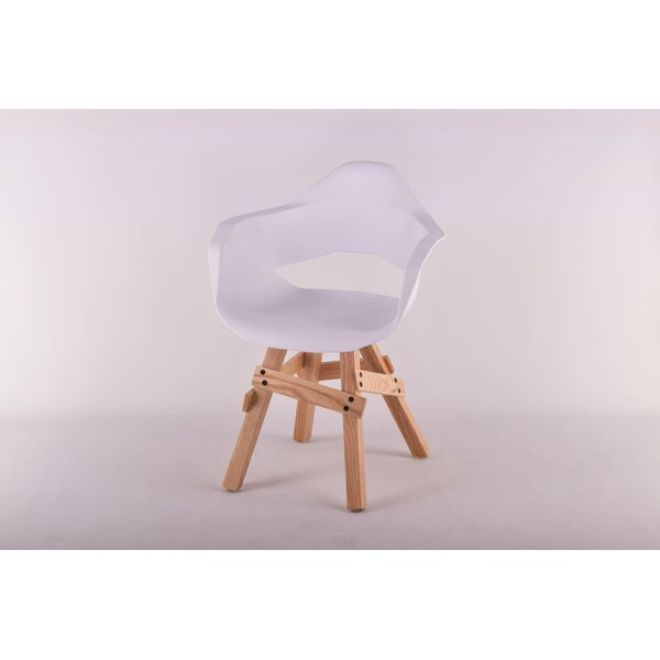 Orcus Solid Wood Arm chair by Wrought Studio