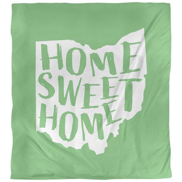 Home Sweet Ohio Single Duvet Cover