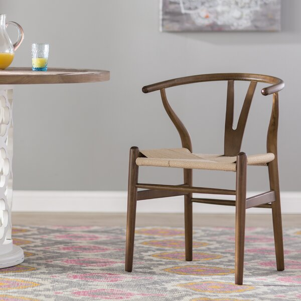 Dayanara Solid Wood Slat Back Dining Chair By Mistana