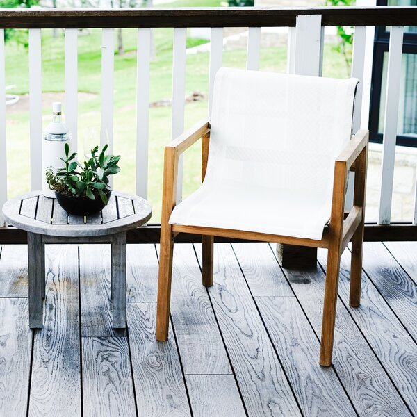 Catalina Oceana Outdoor Teak Patio Dining Chair (Set of 2) by Beespoke