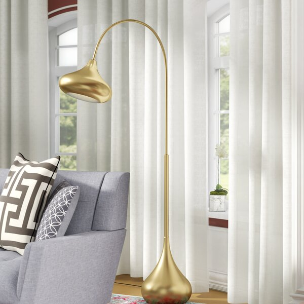 Bengtson 68.5 Arched Floor Lamp by Langley Street