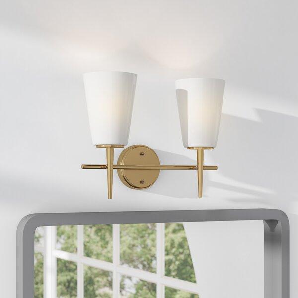 Ganador 2-Light Vanity Light by Langley Street