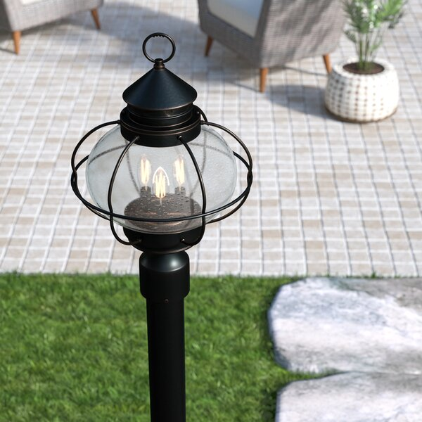 Chincoteague Outdoor Post Lantern by Birch Lane™