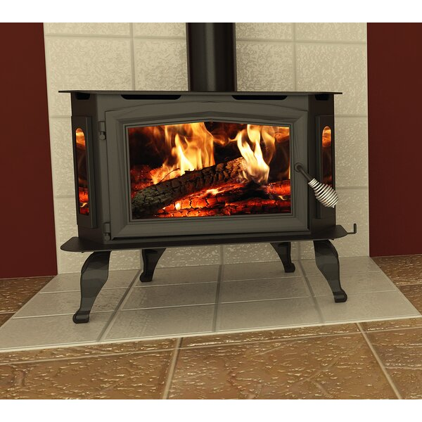 Bay Front 1800 sq. ft. Direct Vent Wood Stove by Vogelzang