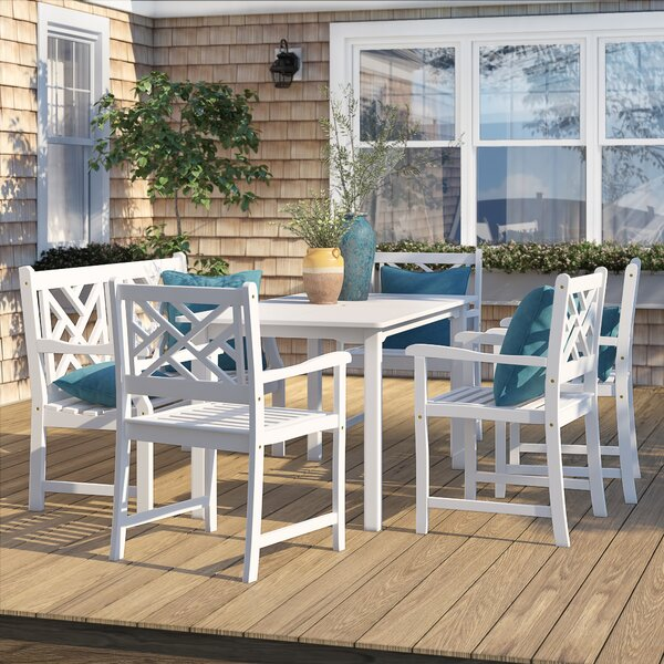Andromeda 6 Piece Dining Set by Beachcrest Home