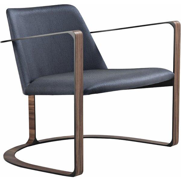 Vesey Armchair by Modloft Black
