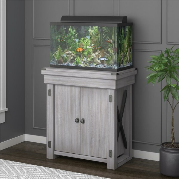 Ester 20 Gallon Aquarium Stand By Archie Oscar.