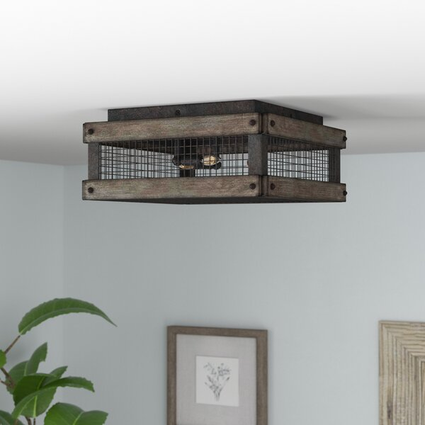 Apolline 3-Light Flush Mount by Laurel Foundry Modern Farmhouse