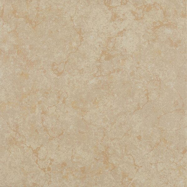 12 x 12 Ceramic Field Tile in Light Gold by Itona Tile