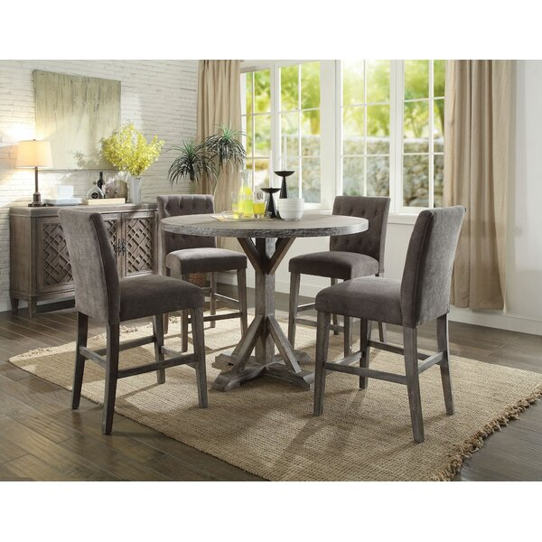 Depue 5 Pieces Pub Table Set by Gracie Oaks