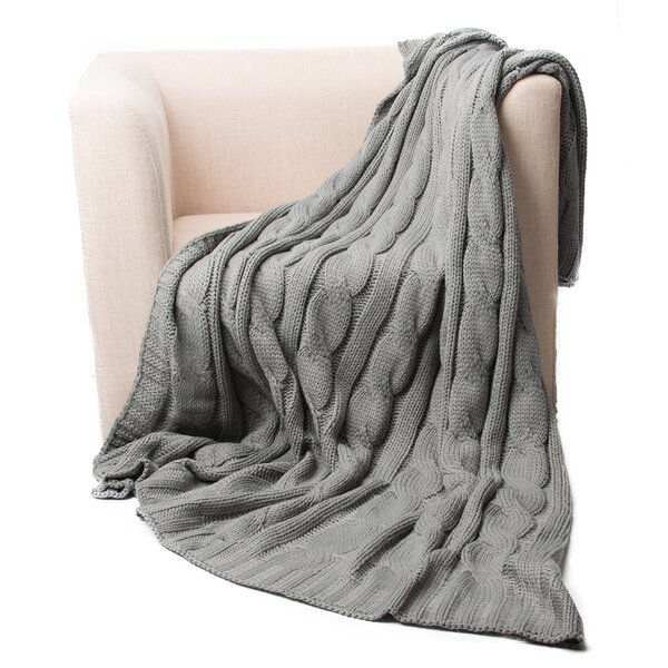 Eastin Dual Cable Throw by Alcott Hill