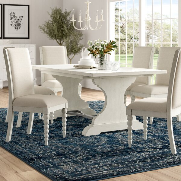Saguenay 7 Piece Extendable Dining Set by Lark Manor