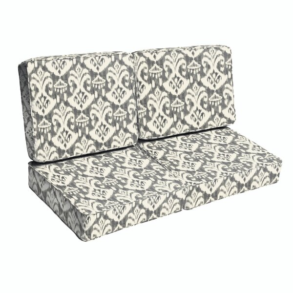 Deep Seating Indoor/Outdoor Loveseat Cushion By Bungalow Rose