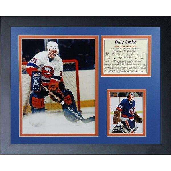 Billy Smith - New York Islanders Framed Memorabilia by Legends Never Die