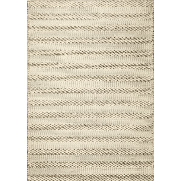 Sherwood Hand-Tufted Wool Winter Beige Area Rug by Corrigan Studio