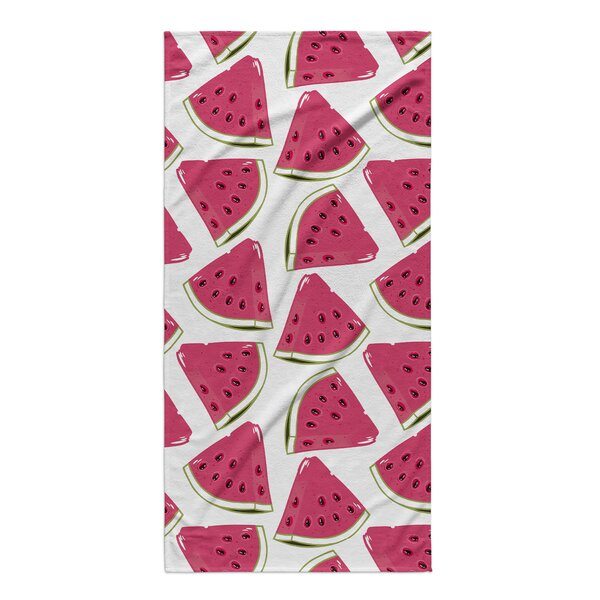 Khona Water Mellon Beach Towel by Latitude Run