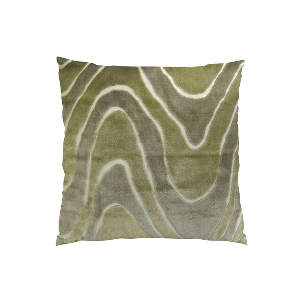 Lush Wave Throw Pillow by Plutus Brands