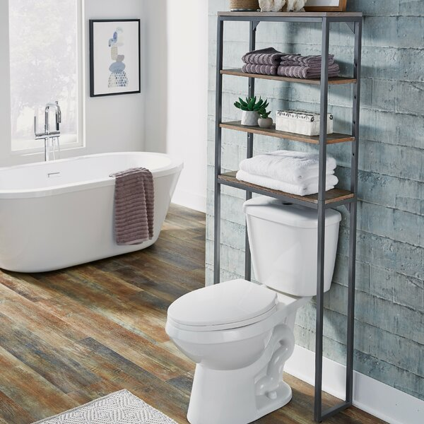 Eckles 25 W x 64 H Over the Toilet Storage by 17 Stories