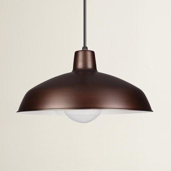Henn 1-Light Dome Pendant by Wrought Studio