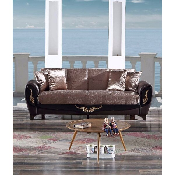 Houlihan 83'' Round Arm Sofa Bed By House Of Hampton