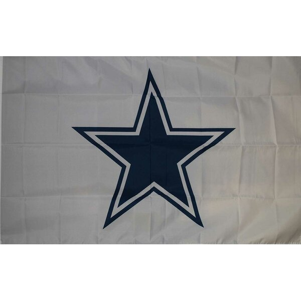 Dallas Cowboys Polyester 3 x 5 ft. Flag by NeoPlex