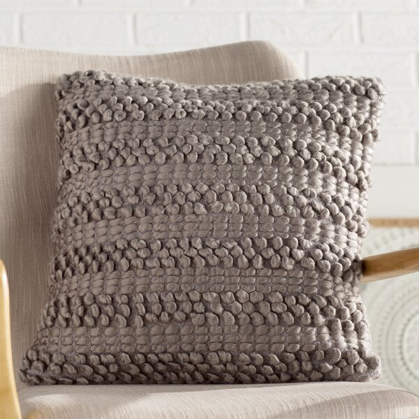 Demorest Looped Pillow by Eider & Ivory