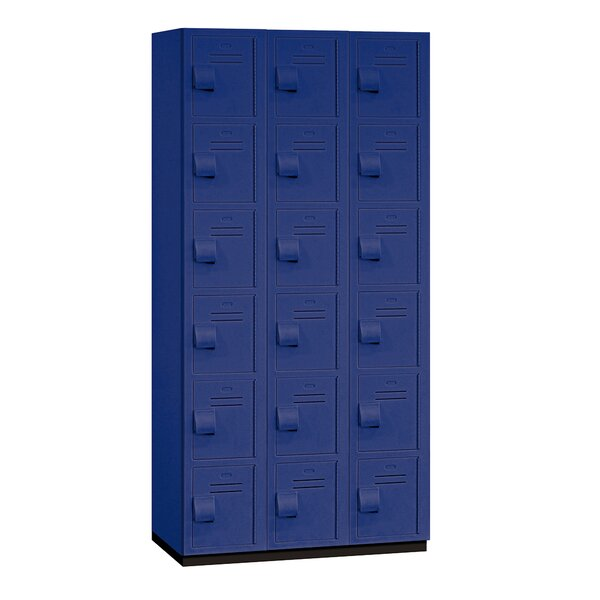 6 Tier 3 Wide Employee Locker by Salsbury Industries6 Tier 3 Wide Employee Locker by Salsbury Industries