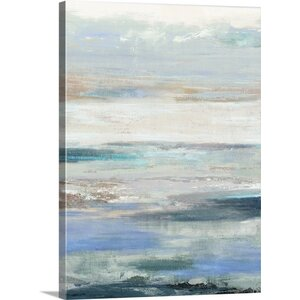 'Waves' by PI Studio Painting Print on Canvas by Great Big Canvas