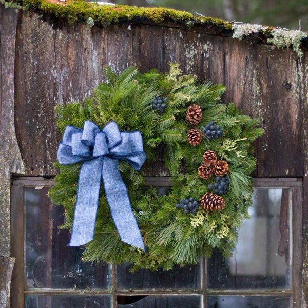 Fresh Christmas 22 Wreath by The Holiday Aisle