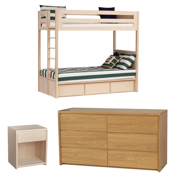 Kadon Twin Standard Bed Configurable Bedroom Set by Orren Ellis
