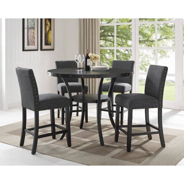 Westberg 5 Piece Pub Table Set by Darby Home Co