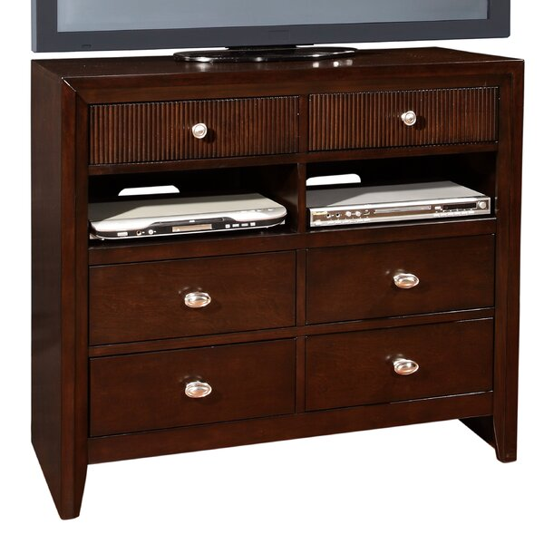 Dion 6 Drawer Media Chest by Bloomsbury Market