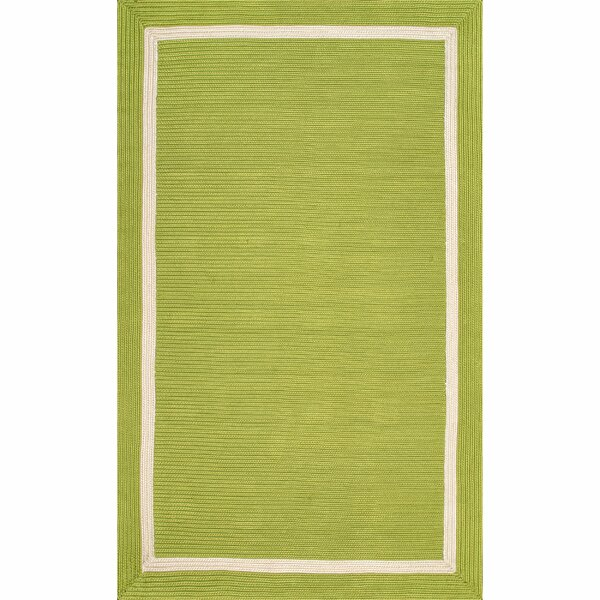 Alley Green Indoor/Outdoor Area Rug by Highland Dunes