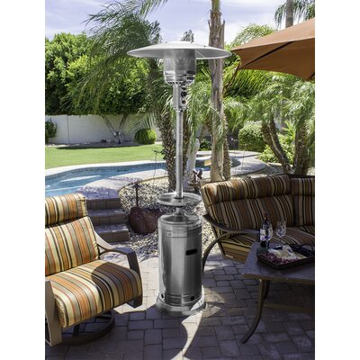 AZ Patio Heaters Tall 41,000 BTU Propane Patio Heater