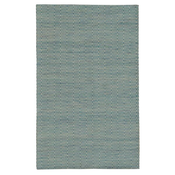 Dior Blue Area Rug by Noble House