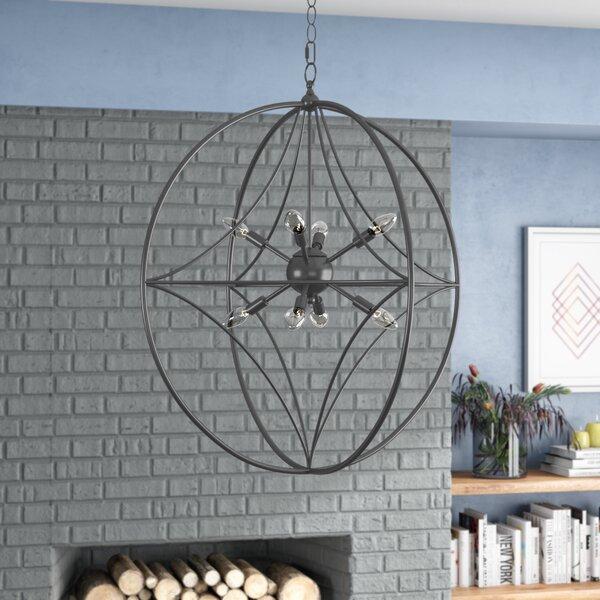 Silvester 8 - Light Sputnik Sphere Chandelier by Brayden Studio Brayden Studio
