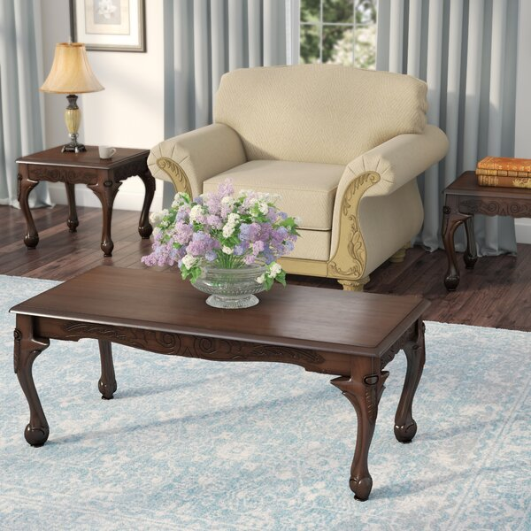 Apache 3 Piece Coffee Table Set by World Menagerie World Menagerie
