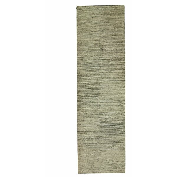 Hidden Path Wool/Silk Natural Area Rug