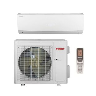 24,000 BTU Ductless Mini Split Air Conditioner with Heater and Remote by Tosot