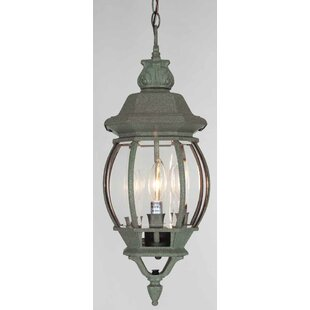 Best Reviews 3-Light Outdoor Hanging Lantern By Volume Lighting