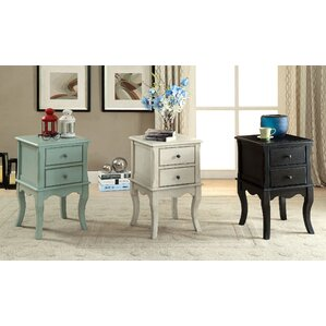 Southbury End Table with Storage by Alcott H..