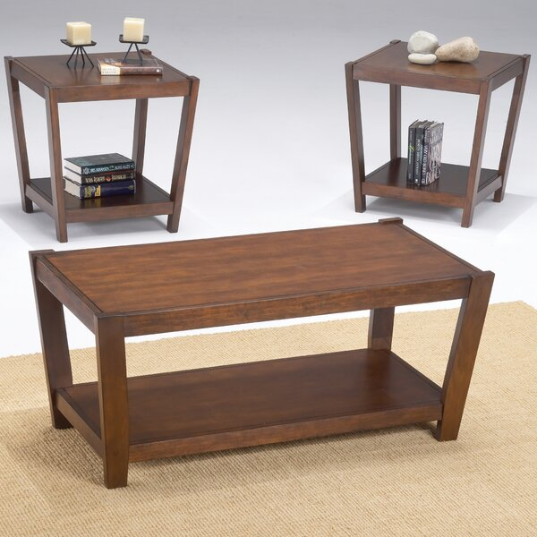 Sabre 3 Piece Coffee Table Set by Bernards