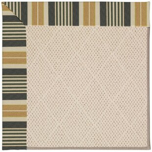 Best Reviews Lisle Cream Indoor/Outdoor Area Rug By Longshore Tides