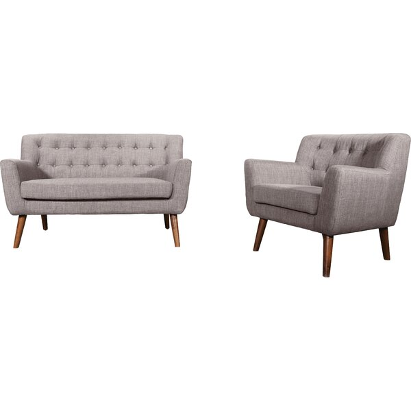 Brandon 2 Piece Living Room Set by Hashtag Home