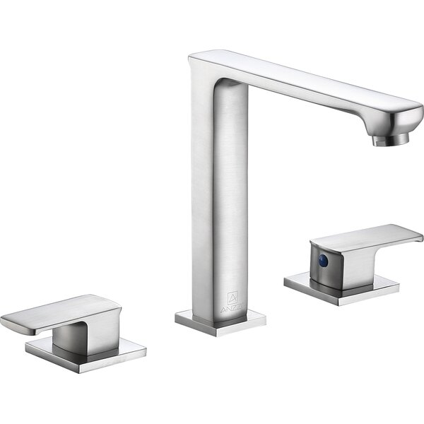 Alpine Double Handle Widespread Bathroom Faucet by ANZZI